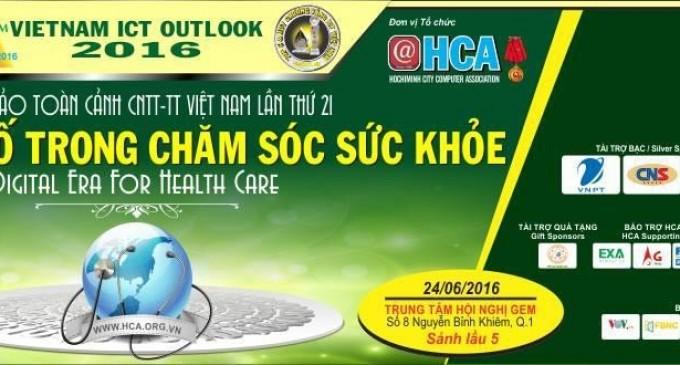 """Hội thảo toàn cảnh CNTT-TT Việt Nam VIO 2016 chủ đề """"Kỷ nguyên số trong chăm sóc sức khỏe"""""""