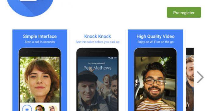 Ứng dụng di động video call Google Duo ra mắt trên toàn cầu