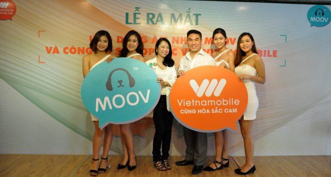 Mạng di động Vietnamobile cung cấp ứng dụng âm nhạc trực tuyến MOOV