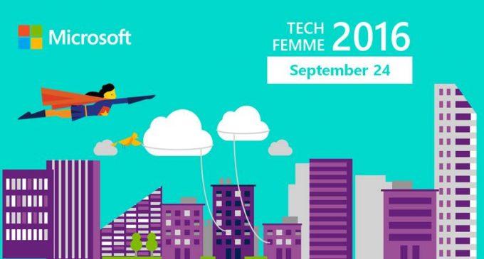 Microsoft TechFemme 2016 truyền cảm hứng cho nữ sinh chinh phục CNTT
