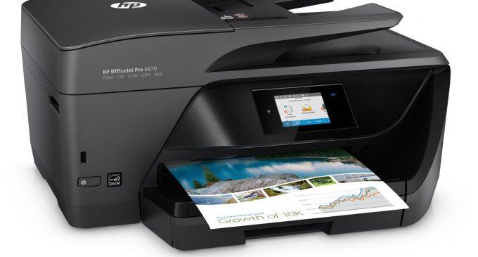 Máy in AIO HP OfficeJet Pro 6970: bộ văn phòng tứ bảo thời công nghệ