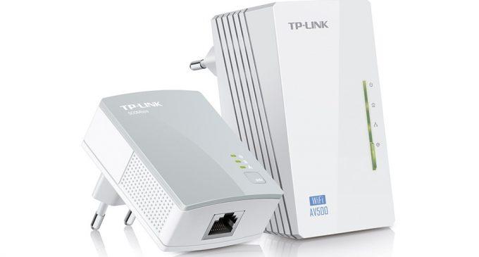 Mở rộng sóng Wi-Fi qua đường dây điện trong nhà với TP-Link Powerline Extender 300Mbps AV500