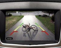 Ráp backup camera trên xe hơi