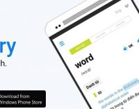 Laban Dictionary, tự điển trên điện thoại