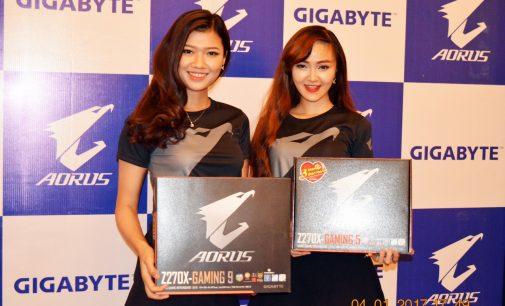 Gigabyte ra mắt dòng bo mạch chủ AORUS Gaming chạy chipset Intel 200 Series hỗ trợ CPU Intel Core Gen 7 Kaby Lake