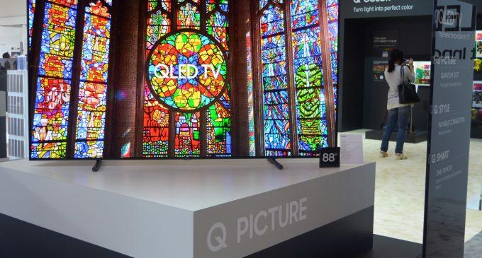 Samsung QLED TV công nghệ Quantum Dot Display và soundbar thế hệ 2017