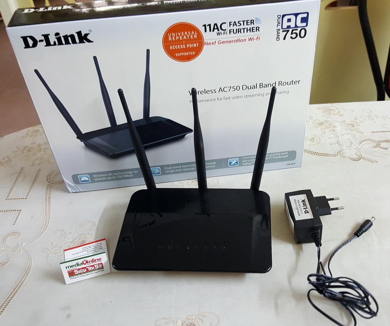 Cài đặt và sử dụng wireless router D-Link DIR-809 | MediaOnline Magazine