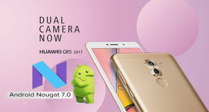 Cuộc thi thử nghiệm bản Beta Android 7.0 (Nougat) với Huawei GR5 2017