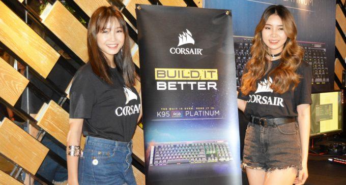 Corsair giới thiệu sản phẩm mới dành cho máy tính hiệu suất cao và chơi game