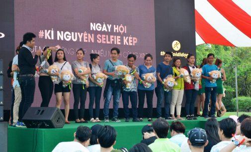Oppo Việt Nam tổ chức Ngày hội Kỷ nguyên selfie kép trải nghiệm smartphone F3 Plus