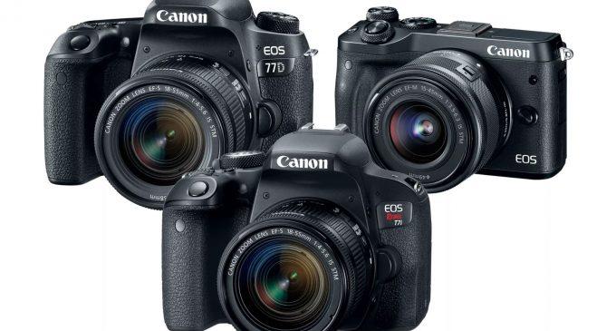 Canon ra mắt 3 máy ảnh chuyên nghiệp EOS DRSL mới