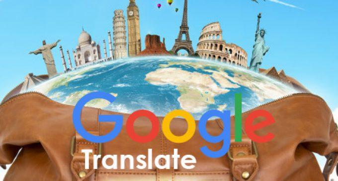 Google Translate ứng dụng trí thông minh nhân tạo cho nhiều ngôn ngữ