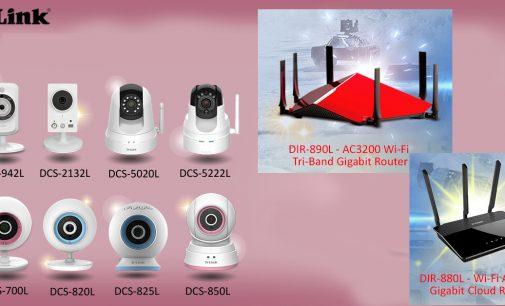 D-Link tặng quà cho người dùng mua wireless router và IP camera trong tháng 5-2017
