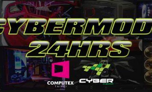 """Cuộc thi """"độ case máy tính"""" CyberMods 24hrs Live Modding tại COMPUTEX 2017 Taipei"""