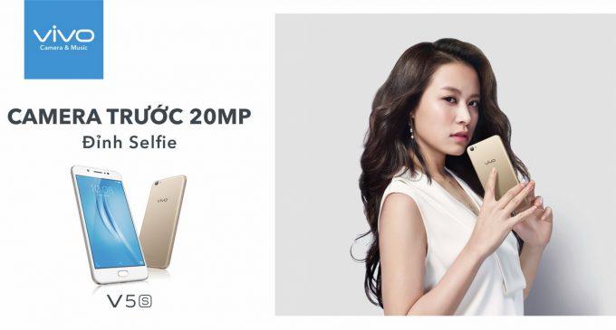 Smartphone Vivo V5s có mặt tại Việt Nam
