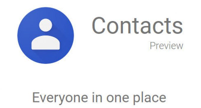 Phục hồi Google Contacts