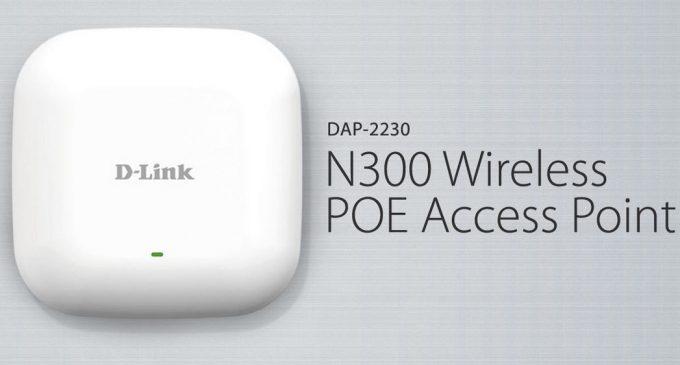 D-Link DAP-2230: thiết bị phát Wi-Fi cho doanh nghiệp hỗ trợ công nghệ PoE