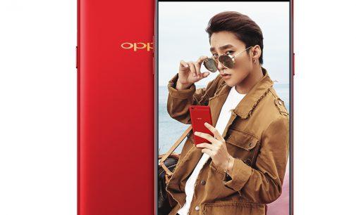 Smartphone OPPO F3 có thêm màu đỏ
