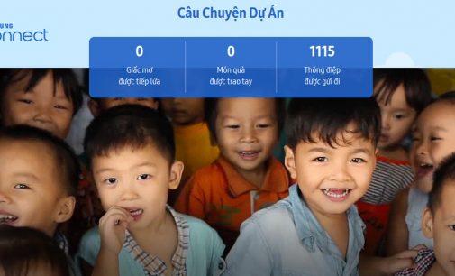 Samsung Connect – cuộc hành trình công nghệ kết nối những ước mơ trẻ em