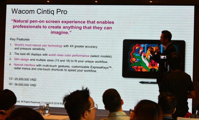 Thương hiệu thiết bị đồ họa Wacom chính thức có mặt ở Việt
