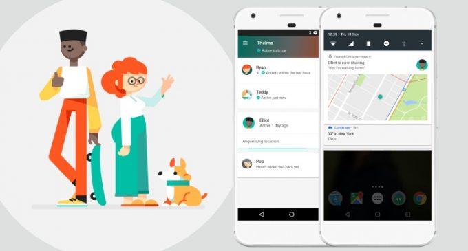 Trusted Contacts – ứng dụng chia sẻ vị trí của bạn cho người thân đã có mặt trên iOS