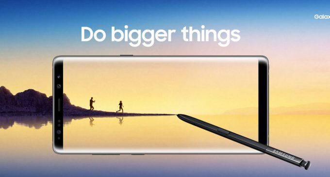 Samsung Galaxy Note8 ra mắt toàn cầu tại New York