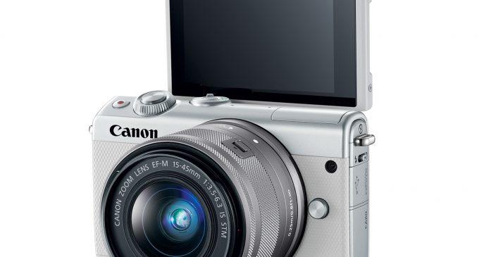 Máy ảnh không gương lật mới Canon EOS M100 dễ xài như… smartphone