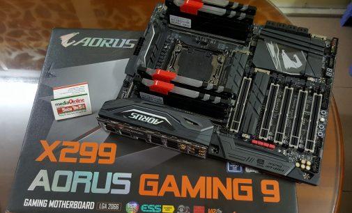 VIDEO: Khám phá motherboard Gigabyte AORUS X299 Gaming 9