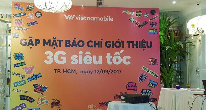 Vietnamobile công bố phủ sóng 3G toàn quốc