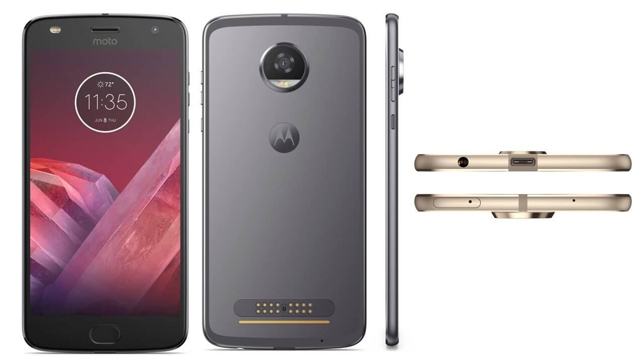 Motorola Z2 play Siêu mỏng
