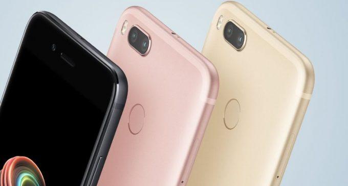 Xiaomi hợp tác với Google ra mắt smartphone Mi A1 chạy Android nguyên bản