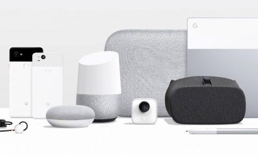 Trận mưa sản phẩm mới 2017 của nhà Google