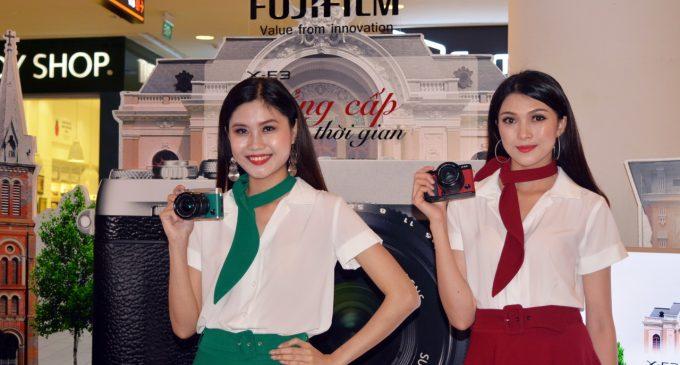 Máy ảnh không gương lật Fujifilm X-E3 có mặt tại thị trường Việt Nam