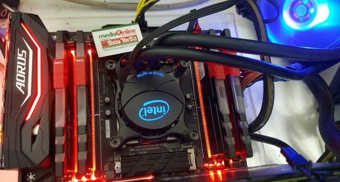 Chạy thử CPU Intel desktop Core X-series 16 nhân 32 luồng