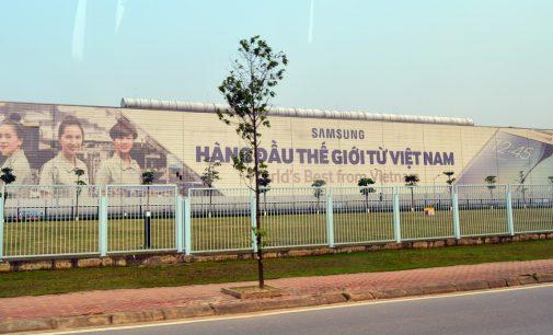 Các nhà máy Samsung đóng góp khoảng 25% kim ngạch xuất khẩu của Việt Nam