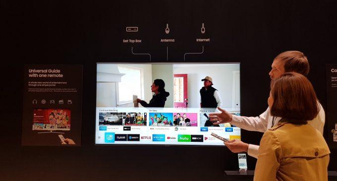 Samsung Smart TV năm 2018 sẽ như thế nào?