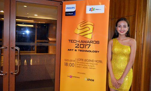 Trao giải thưởng Số Hóa – VnExpress Tech Awards 2017 Art & Technology