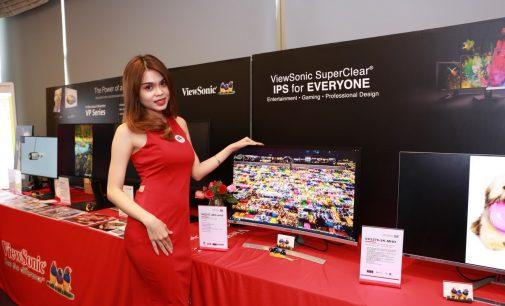 ViewSonic ra mắt màn hình và máy chiếu mới tại Việt Nam