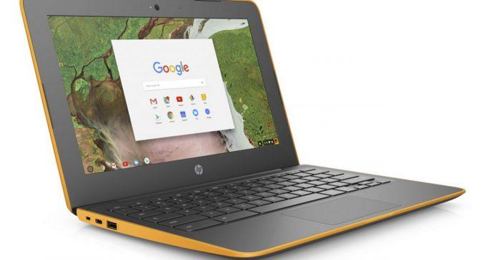 HP chuẩn bị hai mẫu Chromebook mới cho CES 2018