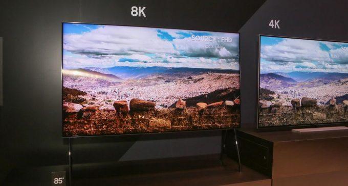 Samsung và LG đua TV UHD 8K thế hệ mới tại CES 2018