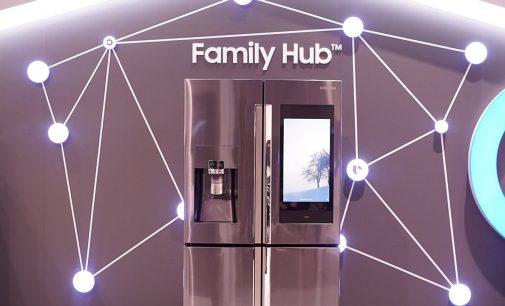 Samsung ra mắt dòng tủ lạnh Family Hub 3.0 tích hợp trợ lý AI Bixby