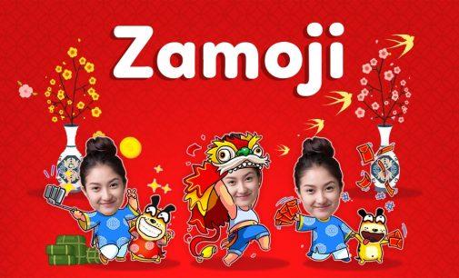 Tự tạo sticker chúc Tết bằng ảnh cá nhân với ứng dụng Zamoji
