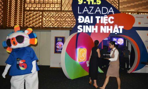Lazada ở tuổi lên 6 trở thành sàn bán hàng online với hơn 2 triệu mặt hàng
