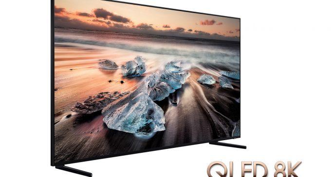 Samsung giới thiệu ra thị trường TV UHD 8K đầu tiên trên thế giới