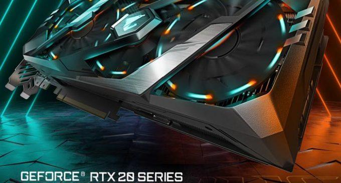 GIGABYTE ra mắt dòng card đồ họa mới GeForce RTX 20 series