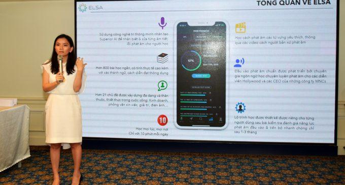 ELSA miễn phí trọn đời tài khoản ứng dụng ELSA Speak cho toàn bộ giáo viên tiếng Anh ở Việt Nam