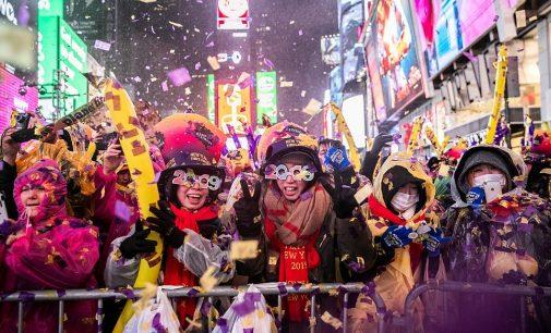 Giao thừa 2019 trên Times Square
