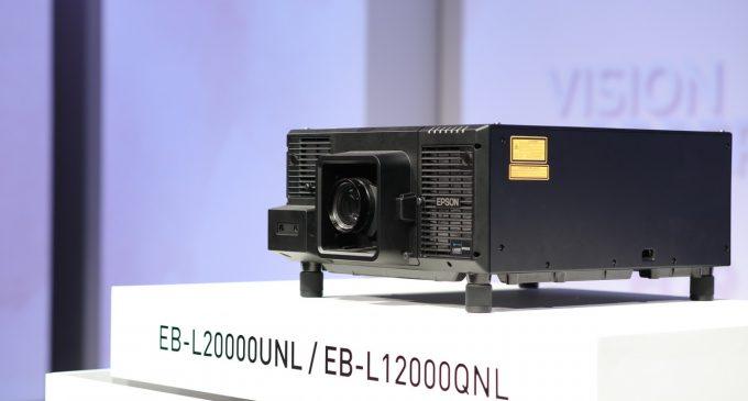 Epson ra mắt thị trường Đông Nam Á máy chiếu laser 12.000 lumen Native 4K 3LCD đầu tiên và máy chiếu 20.000 lumen