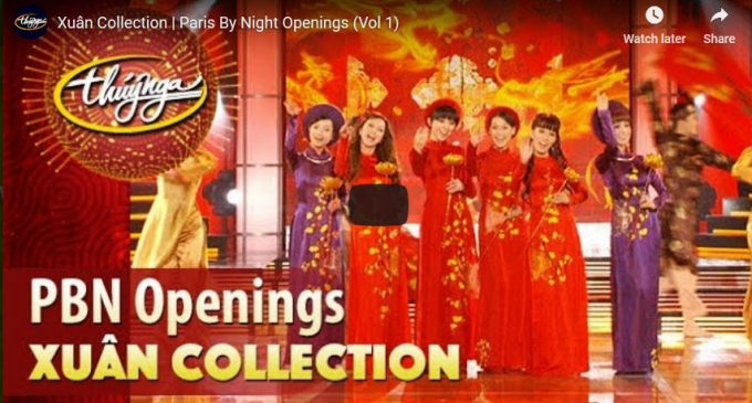 VIDEO: Xuân Collection Paris By Night Openings (Vol 1)