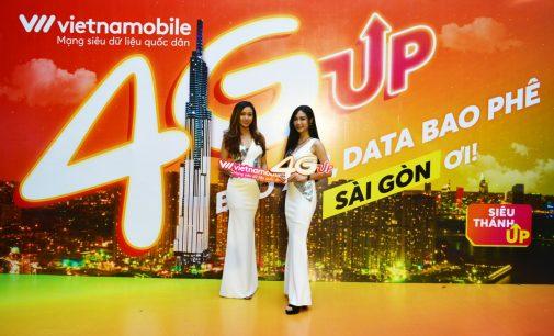 Vietnamobile phủ sóng 4G tại 20 tỉnh thành và ra mắt chiến dịch 4G UP